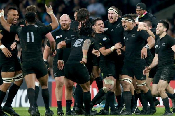 Le XV néo-zélandais n'aura cessé d'impressionner. Une performance hors-norme qui rentre dans l'histoire. (David Rodgers- Getty Images)