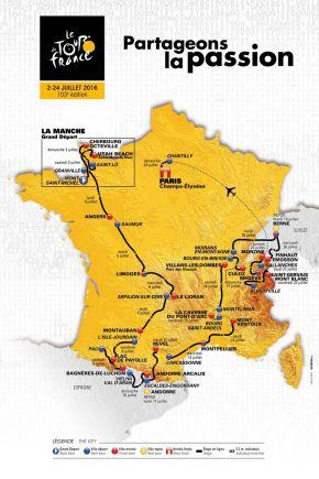 Tour de France 2016: un parcours qui s'annonce trèsintéressant