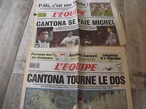 """""""L'Equipe"""", en 1988."""