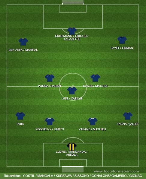 Mes 23 Bleus pour l'Euro 2016