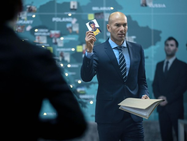 L'immense Zinédine Zidane.