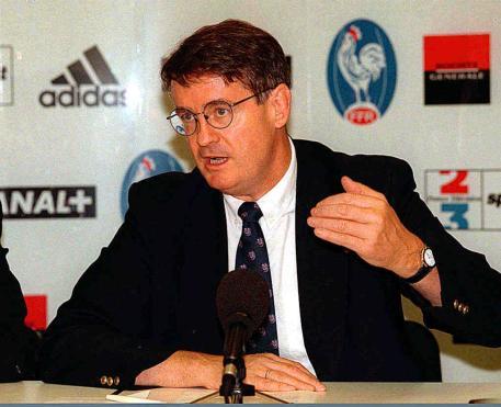 Bernard Lapasset en 1991. (Crédits Le Télégramme)