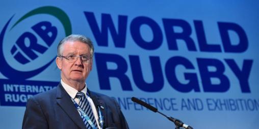 En 2007, il est élu président de l'International rugby board (IRB), qui deviendra World Rugby.