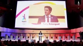 En images : Tony Estanguet, le grand champion devenuleader